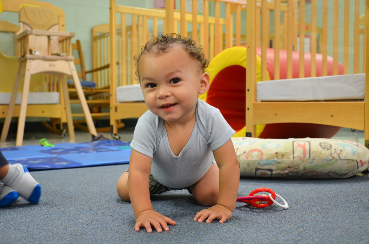 City of San Antonio Head Start - Baby Crawling